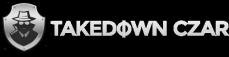 Takedown Czar Logo White